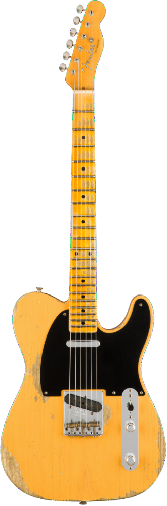 Fender Custom Shop 1953 Heavy Relic Telecaster Butterscotch Blonde